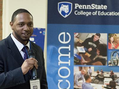 Education student honored with Stand Up, Adult Student awards