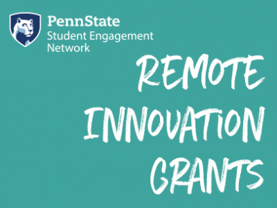 Student Engagement Network Remote Innovation Grants open for fall semester